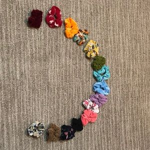 pack of 15 assorted scrunchies